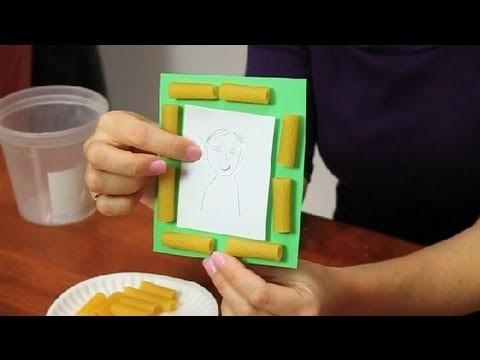 How to Glue Pasta : Fun & Simple Crafts