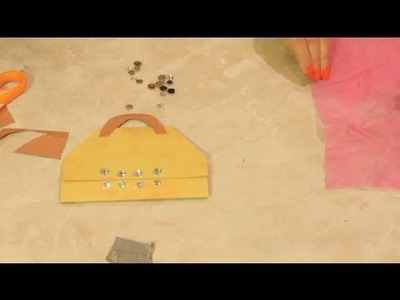 How to Make a Purse Card : DIY Craft Tips