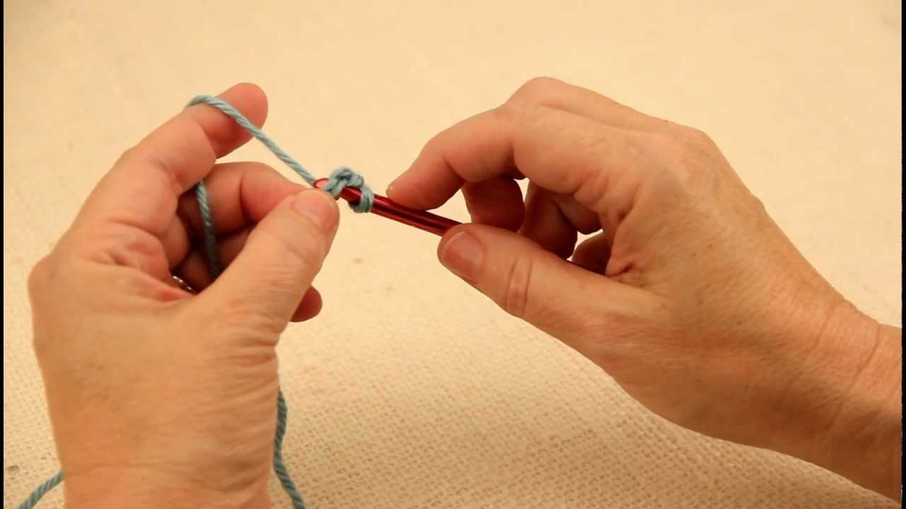 How to Make a Single Crochet Foundation Chain