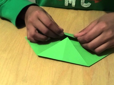 How to make an Origami Holly Leaf in HD 1080P