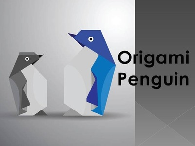 How to make an Origami Penguin Video