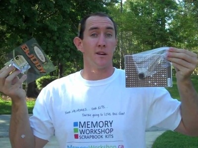 How to Scrapbook with Memory Workshop Scrapbook Kits