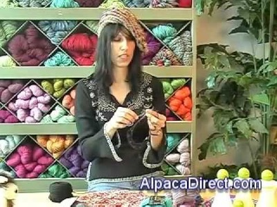 Knit and Crochet Hat and Beading Techniques