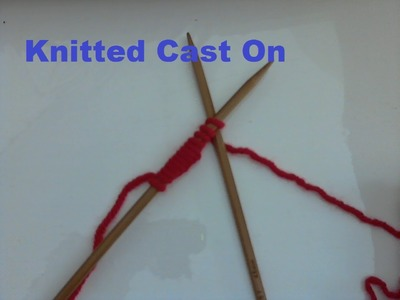 Knitted Cast-On Explained in Marathi Step by Step