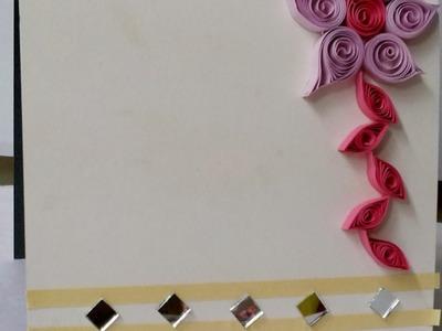 Make a Quilled Floral Greeting Card Design - DIY Crafts - Guidecentral