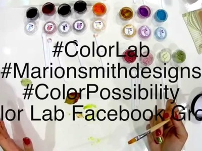Marion Smith Designs Color Lab Sparkling Pigments