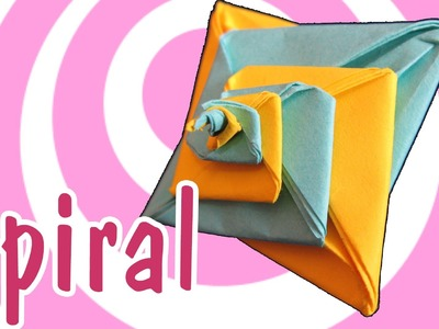 Modular Origami Spiral (Tomoko Fuse)