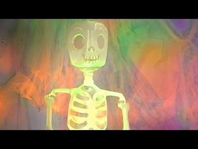 Mr. Bottle Bones Skeleton Craft Decoration   Halloween   Babble