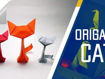 Origami - How To Make An Origami Cat