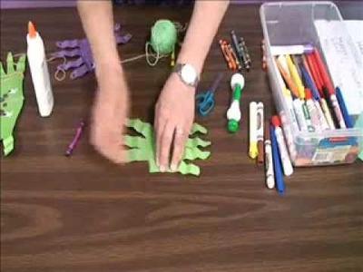 Paper Spider Craft