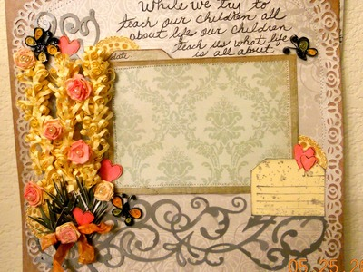 Quilling single page layout