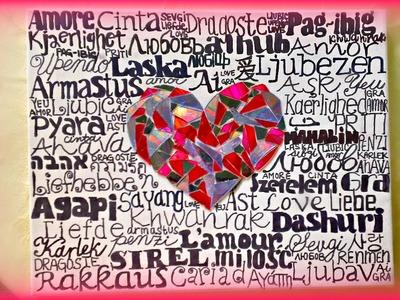 *Room Decor Crafts* 'LOVE' Wall Art!