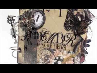 Scrapbooking 'Remember This is Your Time' Mini Album (BM DT Project).m4v