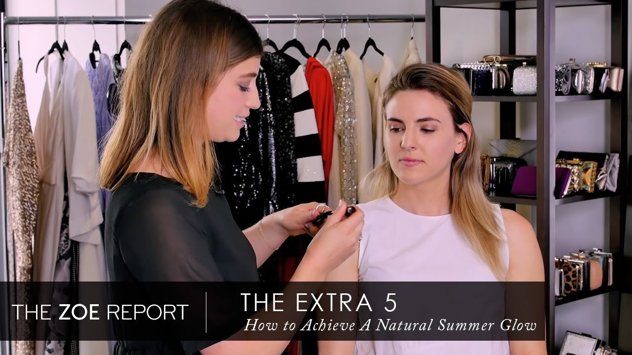 The Extra 5 With Rachel Zoe | How To Achieve A Summer Glow In 5 Minutes