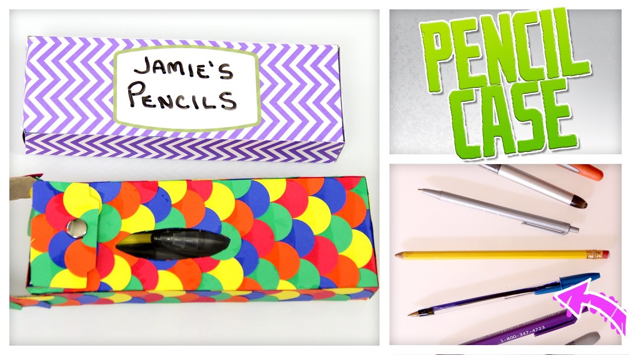 Upcycled Pencil Box - Do It, Gurl