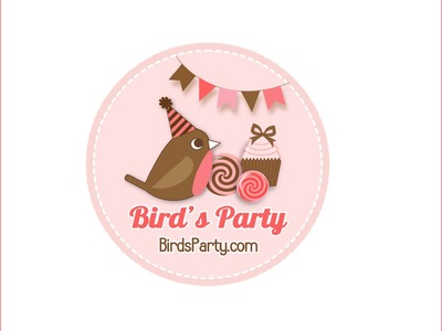 Welcome to Bird's Party Channel - The home of party ideas, birthdays and DIY paper crafts!