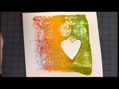 106-1 Jenn Mason shows how to create a 3D mixed media shadow box on Scrapbook Soup