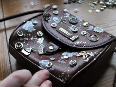 12 Days of DIY: DO IT YOURSELF Embellished Purse