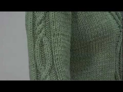 #23 Shawl Collared Pullover, Vogue Knitting Fall 2009