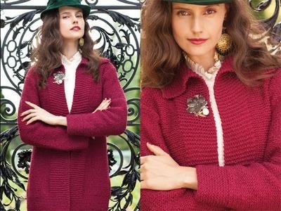 #5 A-Line Jacket, Vogue Knitting Fall 2013