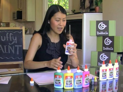 BabbaCo DIY: Make Your Own Puffy Paint