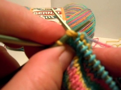 Bernat Ankle Socks - Shaping Toe