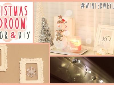 ❄ Christmas Bedroom DIY + Decor! #WinterWeylieLand ❄ | ilikeweylie
