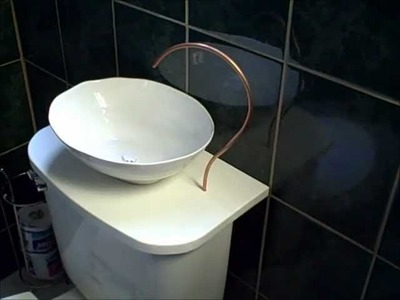 Conserve water with a DIY Toilet Sink