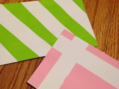 Create Fun Geometric Index Card Patterns - DIY Crafts - Guidecentral
