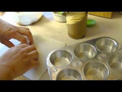 Crisscross Apple Crowns dessert