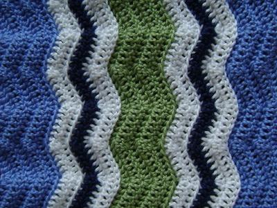 Crochet a Basic Chevron Design