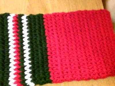 Crochet a scarf
