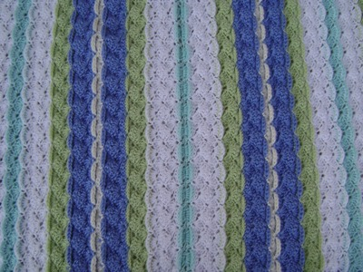 Crochet a Shell with Front Post Single Crochet