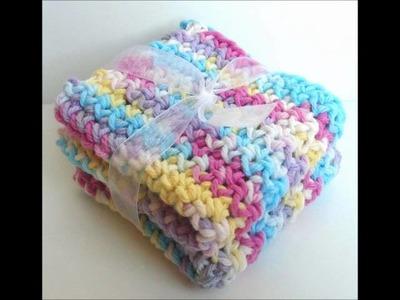 Crochet Dishcloths, Washcloths, Scrubbies, Blankets, Sponges