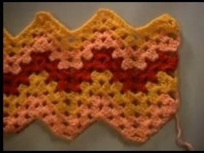 Crochet Granny Ripple Part 2 of 4