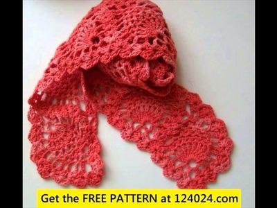 Crochet scarf for children