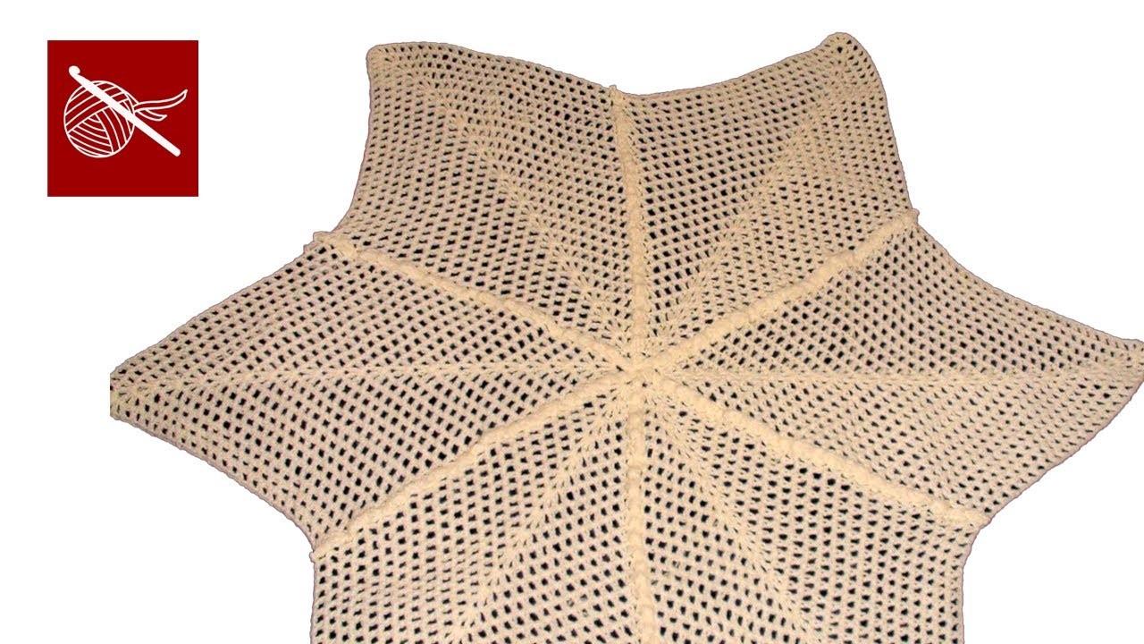 Crochet Star Blanket Afghan Crochet Geek