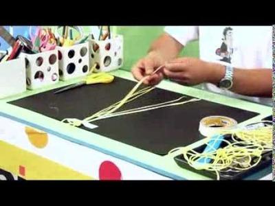 Day 3 - Craft with Silk Wool - Braid Making