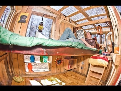 Decorate or Furnish your home these 32 WEIRD and FREE DIY Ideas (tiny house.cabin)