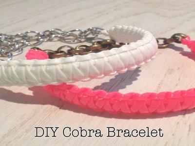 ☆ DIY Cobra Bracelet ☆