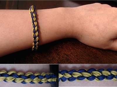 DIY:Quick and easy friendship band (no tools required)