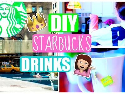 DIY Starbucks Drinks For Spring.Summer! Cheap + EASY!