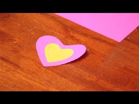 Easy Valentine Cut & Paste Crafts for Kids : Valentine's Day Crafts