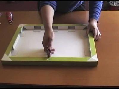 Facil Binder bastidores con tela para SCRAPBOOK