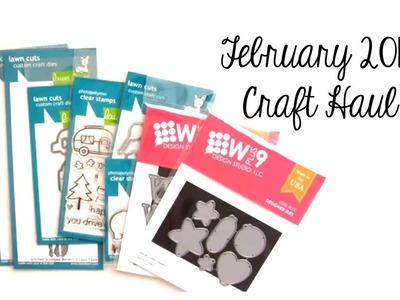 February 2014 Craft Haul by Pretty Pink Posh