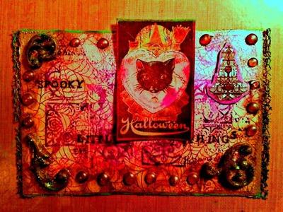 Gothic 3-D Mixed Media Art Tutorials, Lumiere Paint, Hot Glue Gun Crafts & Polymer Clay