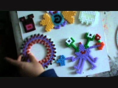 Hama bead template Wenlock Olympic toy craft.wmv