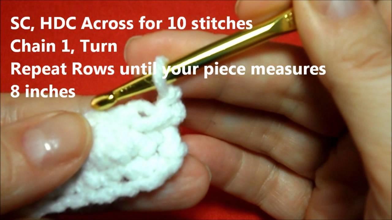 How to Crochet a Wedding Favor Bag