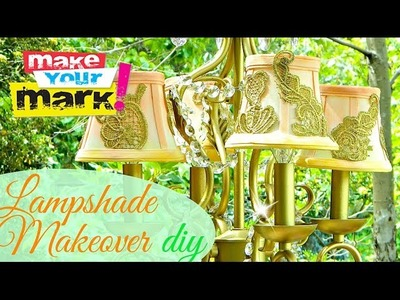 How to: Lampshade Makeover DIY
