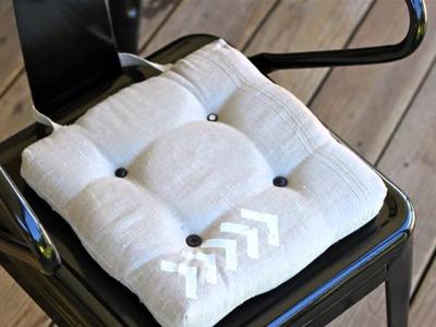 HOW TO : Make a Chair Seat Cushion